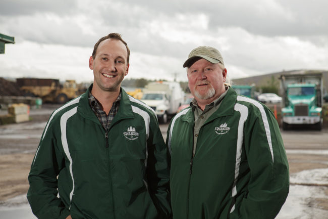 Logistics Department: Lucas Richardson and Jerry Stewart (Manager)