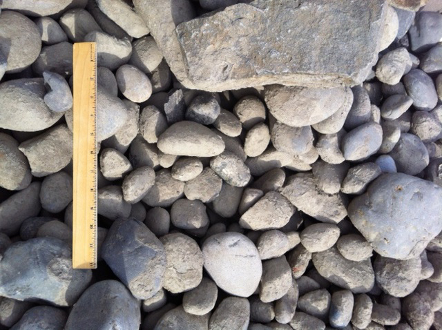 #5 Large River Rock | Indianapolis Decorative Rock | McCarty |Oversized River Gravel